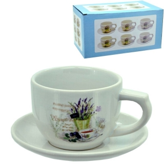 Čajník a šálka